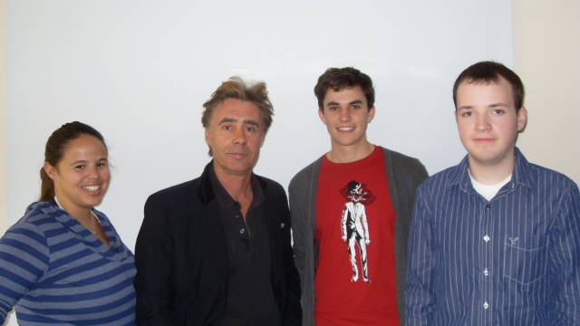Glen Matlock & SU London summer students