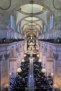 Commemorate the 10th anniversary of 9/11 at St Paul's cathedral (pictured)