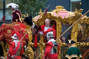 The Lord Mayor's 253 year-old carriage